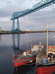 "Transporter Bridge • <a style=""font-size:0.8em;"" href=""http://www.flickr.com/photos/156364415@N06/49028553847/"" target=""_blank"">View on Flickr</a>"