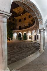 Plaza del Cabildo_181008_Séville (f.chabardes) Tags: espagne octobre andalousie 2019 aras 4t sévillenuit pdeséville plazadelcabildo sevilla elarenal