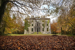 Fall of the great houses. (Sean Hartwell Photography) Tags: moorehall mayo ireland ruins ruin autumn fall leaves abandoned
