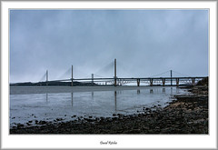 Three Bridges over the Forth (flatfoot471) Tags: 2019 normal scotland unitedkingdom april riverforth queensferry forthbridge southqueensferry forthroadbrige queensferrycrossing 18125sigma fife westlothian