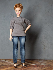 Nellie (Levitation_inc.) Tags: ooak doll dolls curvy barbie made move fashion levitation levitationfashion barbiestyle 2019 casual jeans