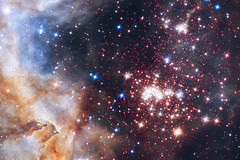 The star cluster Westerlund 2 (DMolybdenum) Tags: westerlund2 hubble space telescope image galaxy nebula