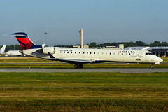 N378CA (Delta Conn. - GoJet Airlines) (Steelhead 2010) Tags: yul nreg n378ca crj700 crj bombardier deltaairlines deltaconnection gojetairlines