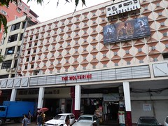 'The Wolverine', Playing at a Cinema in Downtown Yangon, Myanmar (horizontal)