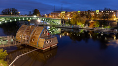 General de la Motte-rouge bridge (_LhO_) Tags: nantes loireatlantique france bridge bluehour heurebleue longexposure night nuit pose longue