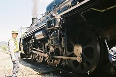 Now checking (しまむー) Tags: pentax mz3 smc a 28mm f28 kodak gold 200 北海道&東日本パス 普通列車 local train trip east japan