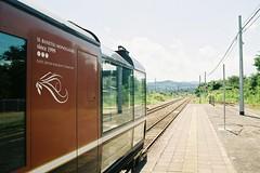 The way we came (しまむー) Tags: pentax mz3 smc a 28mm f28 kodak gold 200 北海道&東日本パス 普通列車 local train trip east japan