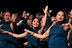 Student Dancers at Luau - Samoa (aaronrhawkins) Tags: dance luau polynesia polynesian girls women beautiful pretty student hula samoa samoan female byu brighamyounguniversity culture provo utah stage event group ensemble smile happy aaronhawkins
