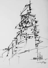 (Gasheh) Tags: art architecture sketch composition line pen gasheh 2019