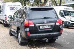 Russia (Bryansk) - Toyota Land Cruiser V8 (PrincepsLS) Tags: russia russian license plate 32 bryansk germany berlin spotting toyota land cruiser v8