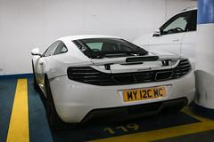 GB (Manchester) - McLaren 12C (PrincepsLS) Tags: uk gb british license plate my manchester germany berlin spotting mclaren 12c