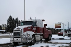Ready, Willing and Able...HTT (novice09) Tags: truckthursday truck towtruck wrecker snow kenworth ipiccy