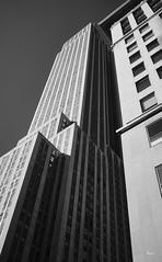 Verticals (Hector Patrick) Tags: newyork empirestate fujifilm x100f usa mono blancoynegro noiretblanc absoluteblackandwhite acrosr flickrelite flickr nyc fuji architecture architektur