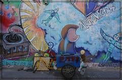 mural painting (Körnchen59) Tags: malerei painting bunt colors künstlerviertel 798 peking chinareise körnchen59 elke körner sony 6000