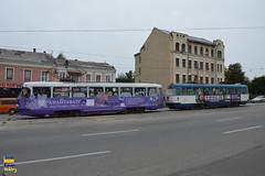 Tatra T3  Kharkiv (Кевін Бієтри) Tags: tatra tatrat3 t3 kharkiv kharkov kharkivtrainstation kharkivpass tram tramway ukraine ukraïna ua sex sexy d3200 d32 d32d nikond3200 nikon kevinbiétry kevin spotterbietry kb