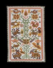 Mazahua Embroidery Mexico Textiles (Teyacapan) Tags: mazahua textiles embroidery sewing mexican edomex sanfelipesantiago animals