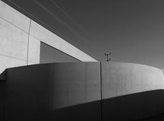 lines & concretes (christikren) Tags: austria architecture abstract blackwhite christikren grey lines linescurves monochrome contemporary concrete canonpowershotg5x