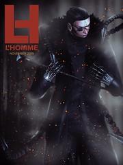 L'Homme Magazine SL November 2019~Cerberus (*closed for a while*) Tags: lhomme secondlife sl hikaruenimo skipstaheli cerberus dark cover magazine