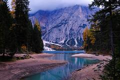 Majestic. (The Dolomites Part II) (ej - light spectrum) Tags: dolomiten dolomites südtirol landscapephotography italy italien landschaftsfotografie autumn herbst pragserwildsee lagodibraies xt2 fujifilm berge mountains