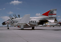 F-4N Phantom II 151476 of VF-301 ND-113 (JimLeslie33) Tags: 151476 f4 f4h f4b f4n vf vf301 nd cvwr30 cvwr nas miramar nd113 usn usnr navy naval aviation reserve phantom ii mcdonnell douglas fighter fightertown devils disciples