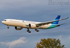 F-WWYC Airbus A330 Neo Garuda (@Eurospot) Tags: pkghf 1948 fwwyc airbus a330 a330900 neo garuda toulouse blagnac