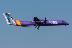 G-ECOH - Flybe - Bombardier DHC-8-402Q Dash 8 (5B-DUS) Tags: gecoh flybe bombardier dhc8402q dash 8 dh8d ams eham amsterdam schiphol airport airplane aircraft flughafen flugzeug planespotting plane spotting