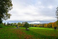 The golf course - Seen at Towneley park , Lancashire - Oct. 2019 (I.T.P.) Tags: golf course towneley park lancashire landscape autumn colours