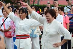 Songs for the Gods (Bob Hawley) Tags: asia chiayicounty taiwan nikond7100 nikon28105mmf3545afd people religion taoism buddhism ceremonies fanlutownship bantianyanziyuntemple worshipping taiwanesewomen