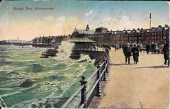 Old Postcard (5) (bebopalieuday) Tags: postcard old morecambe lancashire sea promenade 1924