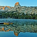 Blue Cold Sunrise, Lake George, Sierra Nevada 10-19