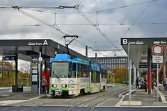Tatra KTNF6 #140 CV Cottbus (3x105Na) Tags: tatra ktnf6 140 cv cottbus tram tramwaj strassenbahn strasenbahn deutschland germany niemcy