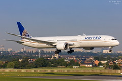 United Airlines (ab-planepictures) Tags: bru ebbr brüssel aircraft plane planespotting flugzeug airport flughafen aviation