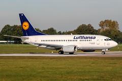 D-ABIE (PlanePixNase) Tags: aircraft airport planespotting haj eddv hannover langenhagen lufthansa boeing 737 737500 b735