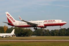 D-ABAU (PlanePixNase) Tags: aircraft airport planespotting haj eddv hannover langenhagen boeing 737 airberlin 737800 b738