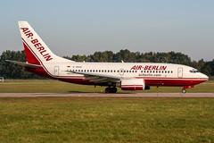 D-ABAA (PlanePixNase) Tags: aircraft airport planespotting haj eddv hannover langenhagen boeing 737 airberlin 737700 b737