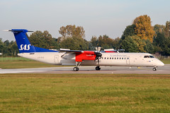 LN-RDQ (PlanePixNase) Tags: aircraft airport planespotting haj eddv hannover langenhagen sas scandinavian dash8 dh4