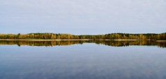 Silence (fxdx) Tags: silence reflection lake finnland a6300 sony 18200 sky clouds fall forest