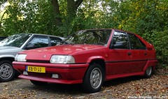 Citroën BX 19 GTI 16V 1989 (Wouter Bregman) Tags: xb11jj citroën bx 19 gti 16v 1989 citroënbx 16s 16valve 16soupapes red rood rouge najaarsrondrit bxclub brinkstraat haarzuilens utrecht nederland holland netherlands paysbas youngtimer old classic french car auto automobile voiture ancienne française france frankrijk vehicle outdoor