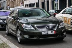Czech Export (Prague) - Lexus LS460 (PrincepsLS) Tags: czech republic export license plate a prague germany berlin spotting lexus ls460