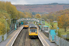 Pacers Soon To Wane (Stuart Warr) Tags: pacers tfw transportforwales 142075 142082 2t24 2f44 1316treherberttocardiffcentral 1235cardiffcentraltotreherbert ystradrhondda