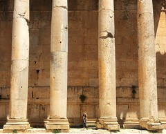 Elena and column of Temple of Bacchus. Lebanon, Baalbek (Alexandr Tikki) Tags: art amazing awesome alexandrtikki architecture air abbadoned antique ancient abstract angle best beauty creative concept crazy cool classic city dream dreams destiny earth explore elena fantastic great hero holiday happy happines idea incredible imagine inspire impressive illusion journey leveltravel light life lights landscape moment minimalism magic moments new nature nice original outdoor old octobet perfect people portrait place past street tikki travel trip top time unusual unique view wow world