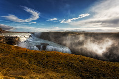 Amazing Iceland - Gullfoss III (Passie13(Ines van Megen-Thijssen)) Tags: gullfoss ijsland iceland island gullfosswaterfall waterfall wasserfall waterval canon inesvanmegen inesvanmegenthijssen