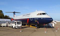 One Eleven (Treflyn) Tags: one eleven bac 111 510 510ed 111500 gavmu ba british airways landor scheme imperial war museum duxford iwm airliner collection