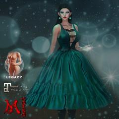 MOEKO Adeline Dress Ad1024 (MoekoTatekana) Tags: legacybody legacymeshbody secondlife moekotatekana moeko ebento originalmesh