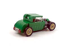 Traditional hot rod coupe (timhenderson73) Tags: lego ideas contest 30s hot rod coupe custom v8