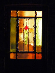 Night Time Liquidfy Stained Glass Door Window Willingham Nov 2019 (Uncle Money UK) Tags: nighttime liquidfy stainedglass door window willingham november 2019