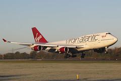 G-VXLG Boeing 747 41R Virgin Atlantic Airways (Barry Swann) Tags: gvxlg 1dmk1v virginatlanticairways boeing747 b747 heavy jumbo jumbojet seattle everett landing finals steam fluff condensation man manchester manchesterairport manchesterinternationalairport mag longhaul canon canoncamera sigma sigmalense