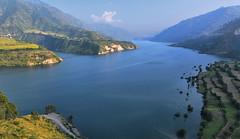 Scenery (Biswajit_Dey) Tags: uttarakhand india landscape hills mountainview river ganges nikond500 touristplace travel gangatri