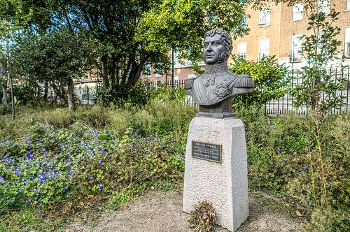 BERNARDO O'HIGGINS [PUBLIC ART IN MERRION SQUARE PARK]-157986