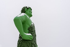 Jolly Green Giant statue in Blue Earth, Minnesota (Lorie Shaull) Tags: jollygreengiant greengiant blueearth minnesota onlyinmn gianttimeinbe roadsideattractions statue green giant park